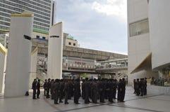 泰国政治危机 库存照片