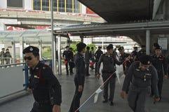 泰国政治危机 免版税库存照片