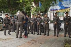 泰国政治危机 免版税库存图片