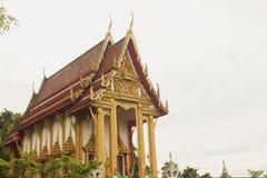 泰国教会寺庙菩萨 免版税库存图片