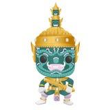 泰国文化巨人 免版税库存照片