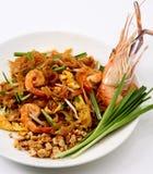 泰国新鲜的填充的虾 图库摄影
