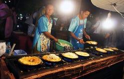 泰国旅游业节日2015年浮动市场 免版税库存图片