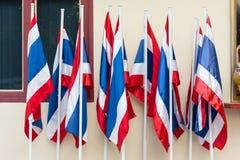 泰国旗子是泰国的标志 库存照片