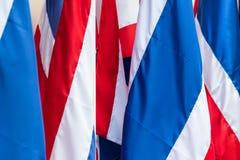 泰国旗子是泰国的标志 免版税库存图片