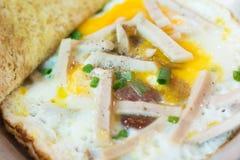 泰国早餐 免版税图库摄影