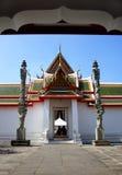 泰国曲拱的寺庙 免版税图库摄影