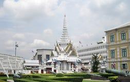 泰国曼谷市全景亚洲人文化 免版税图库摄影
