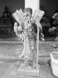 泰国曼谷市全景亚洲文化和雕塑 图库摄影