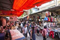 泰国曼谷晁PHRAYA THONBURI市场 免版税图库摄影