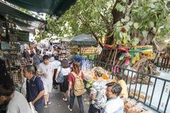 泰国曼谷晁PHRAYA THONBURI市场 库存图片