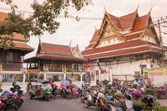 泰国曼谷晁PHRAYA THONBURI 免版税库存图片