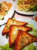 泰国曼谷街道食物 免版税库存照片
