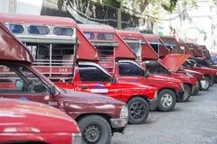 泰国曼谷运输SONGTHAEW 库存图片