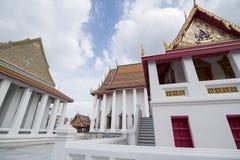 泰国曼谷WAT KALAYANAMIT 免版税库存照片