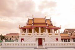 泰国曼谷WAT KALAYANAMIT 库存照片