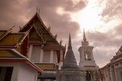 泰国曼谷WAT KALAYANAMIT 免版税库存图片
