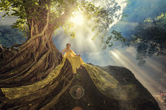 泰国服装 免版税库存照片