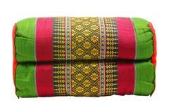 泰国枕头 库存图片