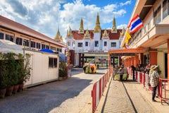 泰国柬埔寨边界 免版税库存照片