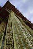泰国柱子的寺庙 库存图片