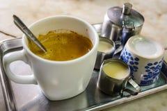 泰国样式咖啡 库存图片