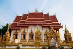 泰国样式寺庙 免版税库存照片