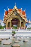 泰国样式寺庙 免版税库存图片