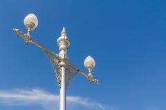 泰国样式灯柱 图库摄影