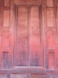 泰国样式窗口由老木头制成 库存图片