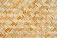 泰国样式竹子墙壁 库存图片