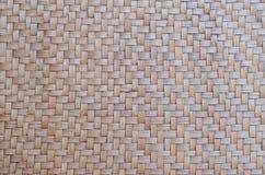 泰国样式竹子的样式手工造纹理背景 免版税库存图片