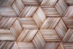 泰国样式竹子的模式手工造 库存图片