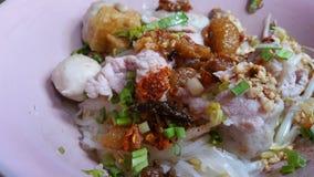 泰国样式辣面条 免版税库存照片