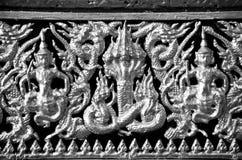 泰国样式雕塑 库存图片