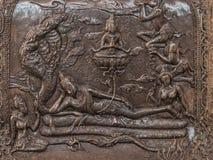 泰国样式雕刻 库存图片