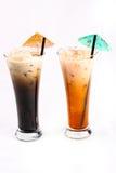 泰国样式饮料 免版税库存照片