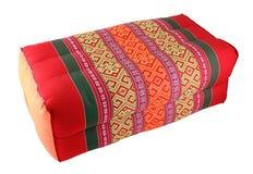 泰国棉花的枕头 图库摄影