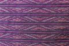 泰国棉织物 免版税库存图片