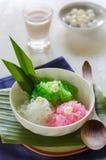 泰国椰奶口味  在叫的泰国 免版税库存图片