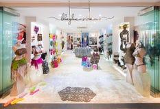 泰国模范商城的,曼谷比基尼泳装商店 库存图片