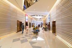 泰国模范商城,曼谷最上面的楼层  免版税库存图片