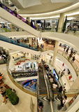 泰国模范商城,曼谷 库存图片