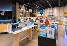 泰国模范的,曼谷电子物品商店 图库摄影