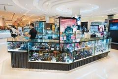 泰国模范购物中心的,曼谷卡西欧商店 库存照片