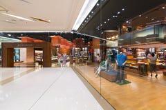 泰国模范购物中心的,曼谷吉姆汤普森商店 库存图片