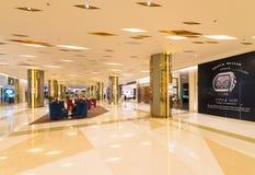 泰国模范购物中心的,曼谷霍尔 库存照片