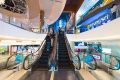 泰国模范购物中心的,曼谷,泰国Krungsri IMAX剧院 图库摄影