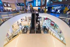 泰国模范购物中心的,曼谷Krungsri IMAX剧院 免版税图库摄影