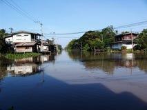 泰国水路 免版税库存图片